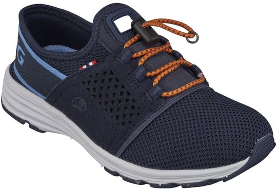 Viking Drag Sneaker, Navy/Orange 28