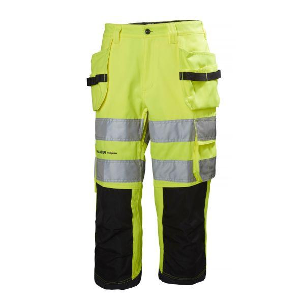 Helly Hansen Workwear Alna Työhousut huomioväri, keltainen/musta C44