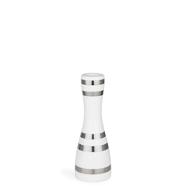 Kähler - Omaggio Candleholder Small - Silver (692402)