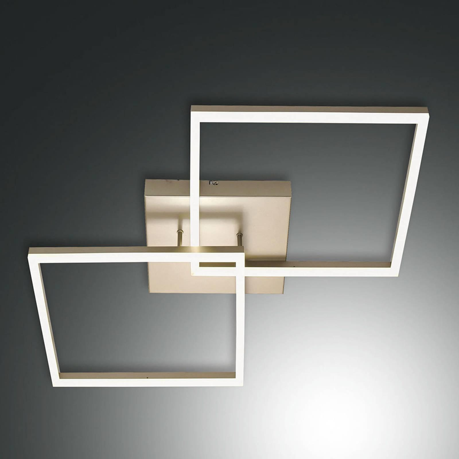 Kultainen LED-kattovalaisin Bard