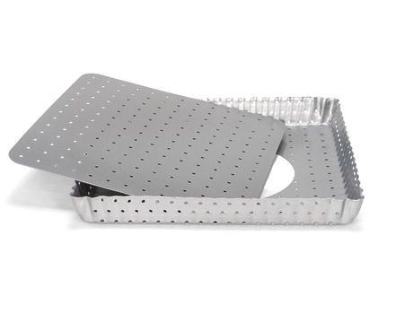 Silvertop Paiform Kvadrat 21x21 cm Sølv