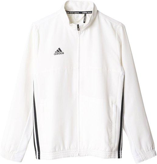 Adidas T16 Team Jacket Y Treningsjakke, White 128