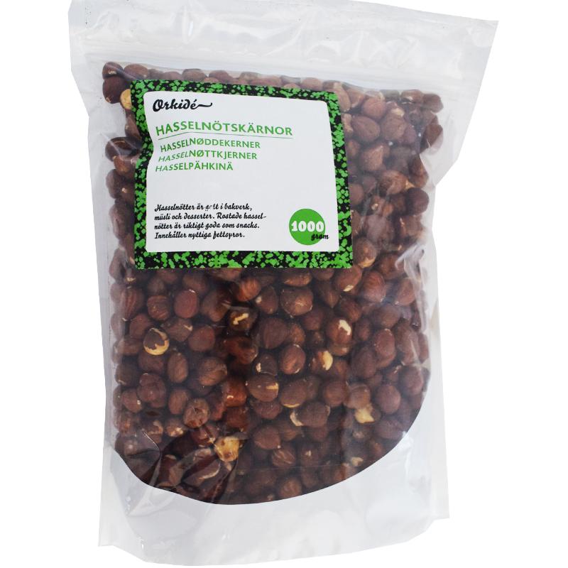 Hasselnötter 1kg - 27% rabatt