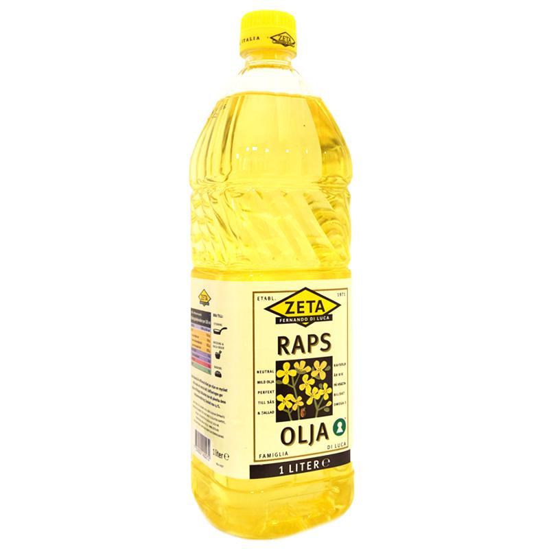 Rapsolja 1l - 50% rabatt