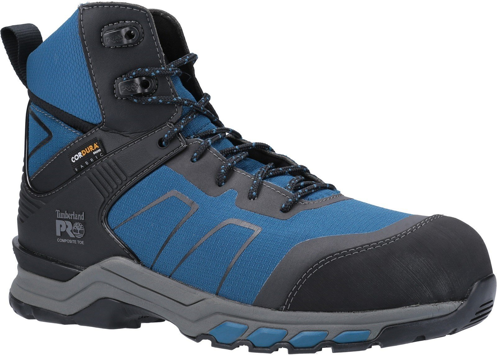 Timberland Pro Men's Hypercharge Safety Work Boot Various Colours 30947 - Teal/Black 12