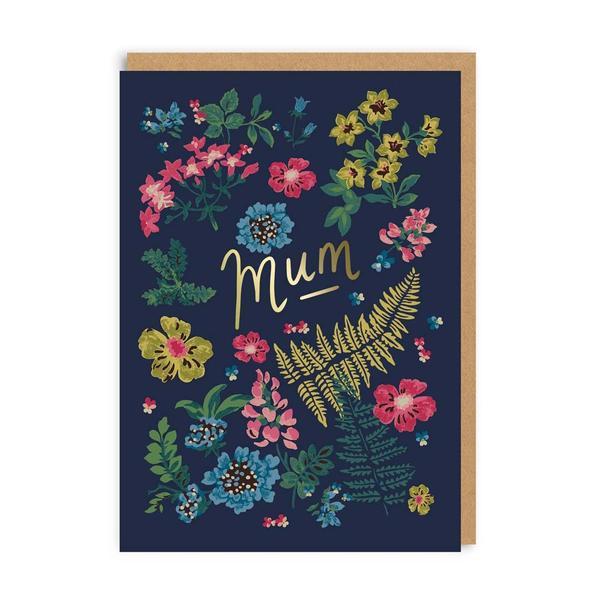 Mum Twilight Garden Greeting Card