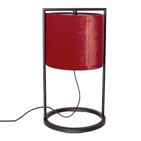 Vieste Bordslampa Röd 45cm