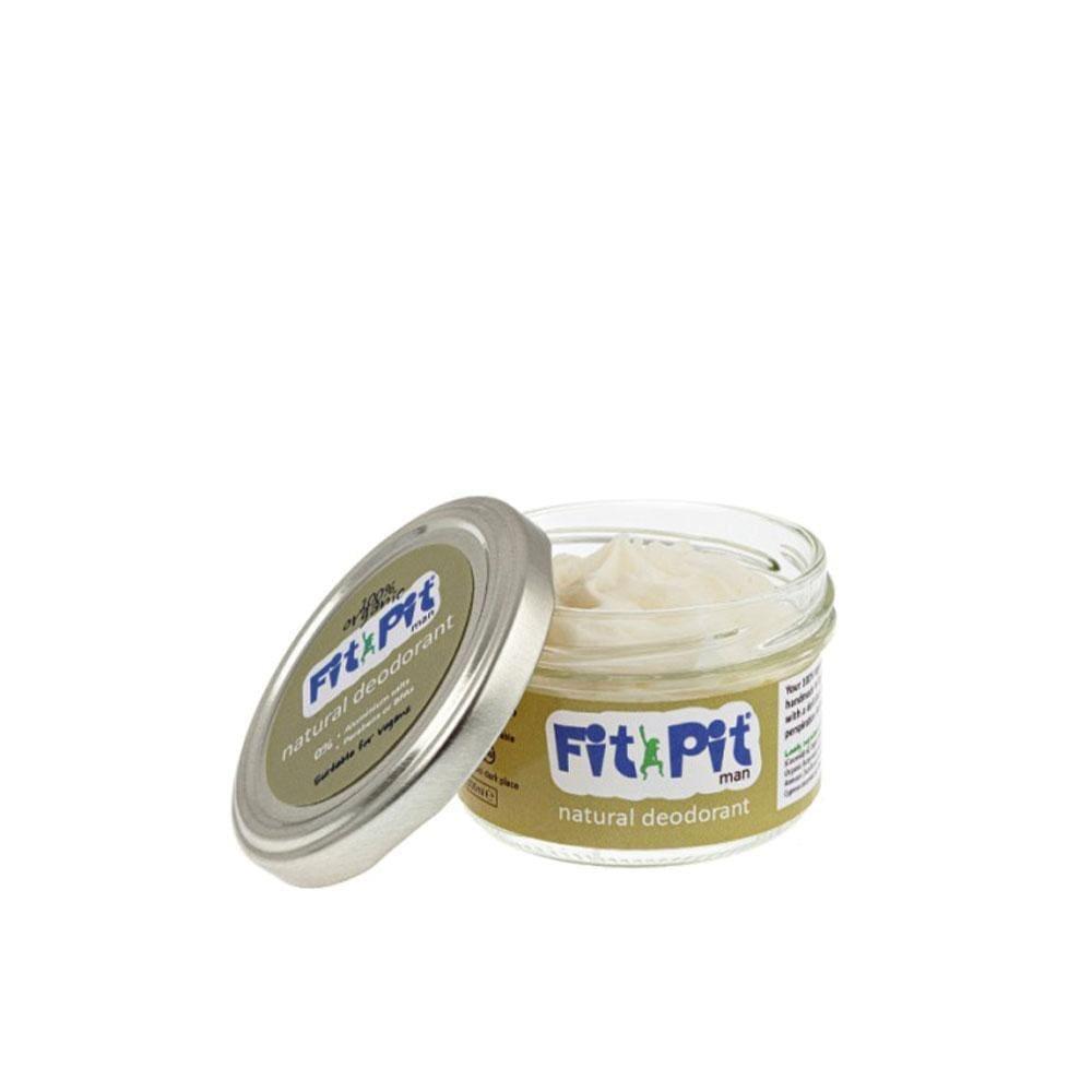 Fit Pit Man – Natural Deodorant (25ml/100ml) 100ml