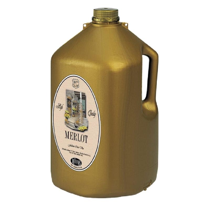 FC Vin Merlot ger 23 liter
