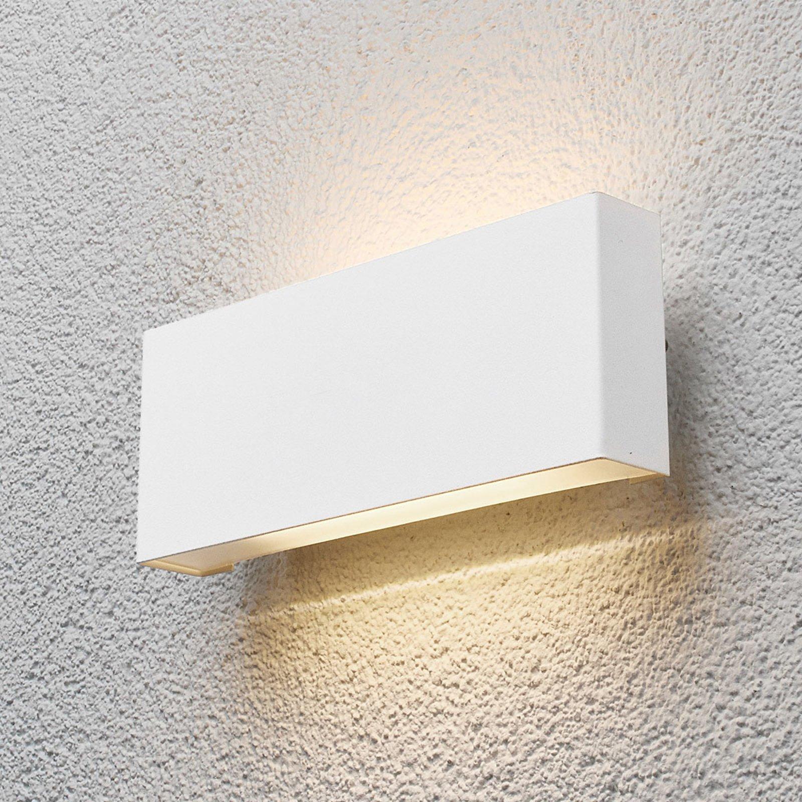 Safira- hvitt utevegglys med LED