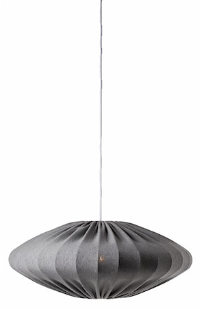 Ellipse Taklampa Grå 65 cm