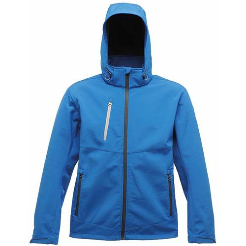 Regatta Unisex Xpro Dropzone 3 Layer Softshell Jacket Various Colours T_TRA672 - Oxford Blue S