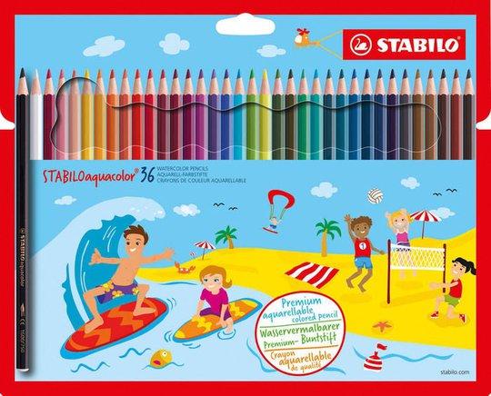 STABILO Akvarellpenner 36-pack