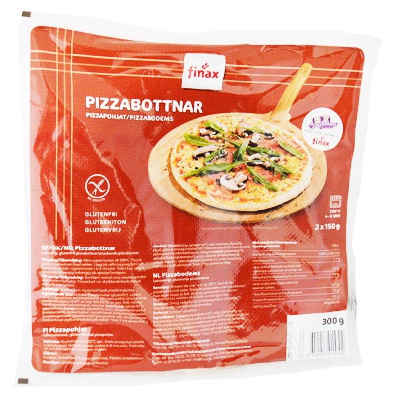 Pizzapohjat 2 x 150 g - 84% alennus