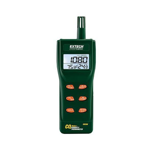 Extech CO250 Karbondioksidmåler -10 til 60°C