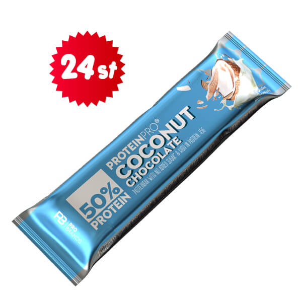 ProteinPro Bar Coconut 45g x 24 st