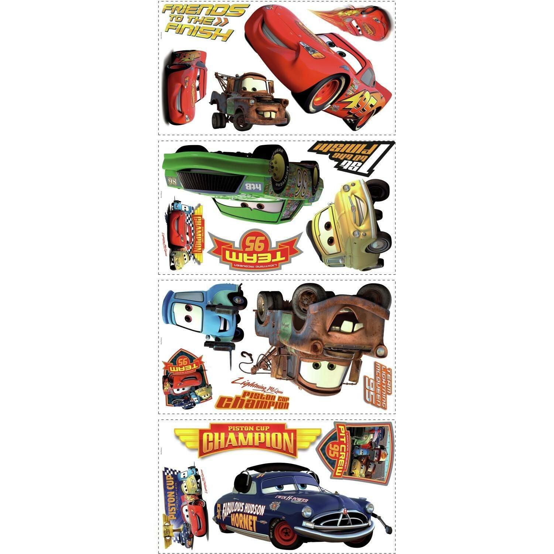 RoomMates Sisustustarrat Disney Autot