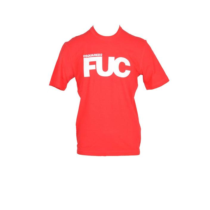 Dsquared - Dsquared Men T-Shirt - red L