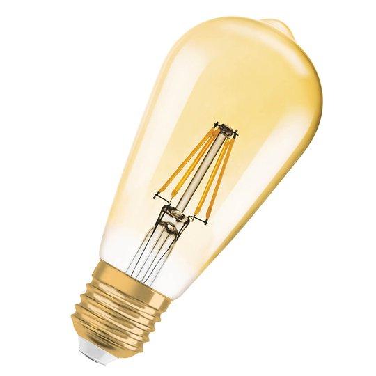 LED-lamppu Gold E27 2,5 W, lämmin valk., 225 lm