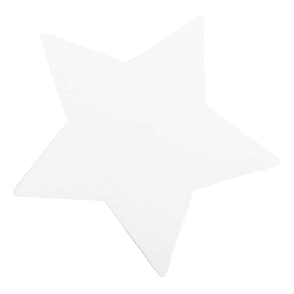 Inbjudningskort Stjärna med Kuvert - 8-pack