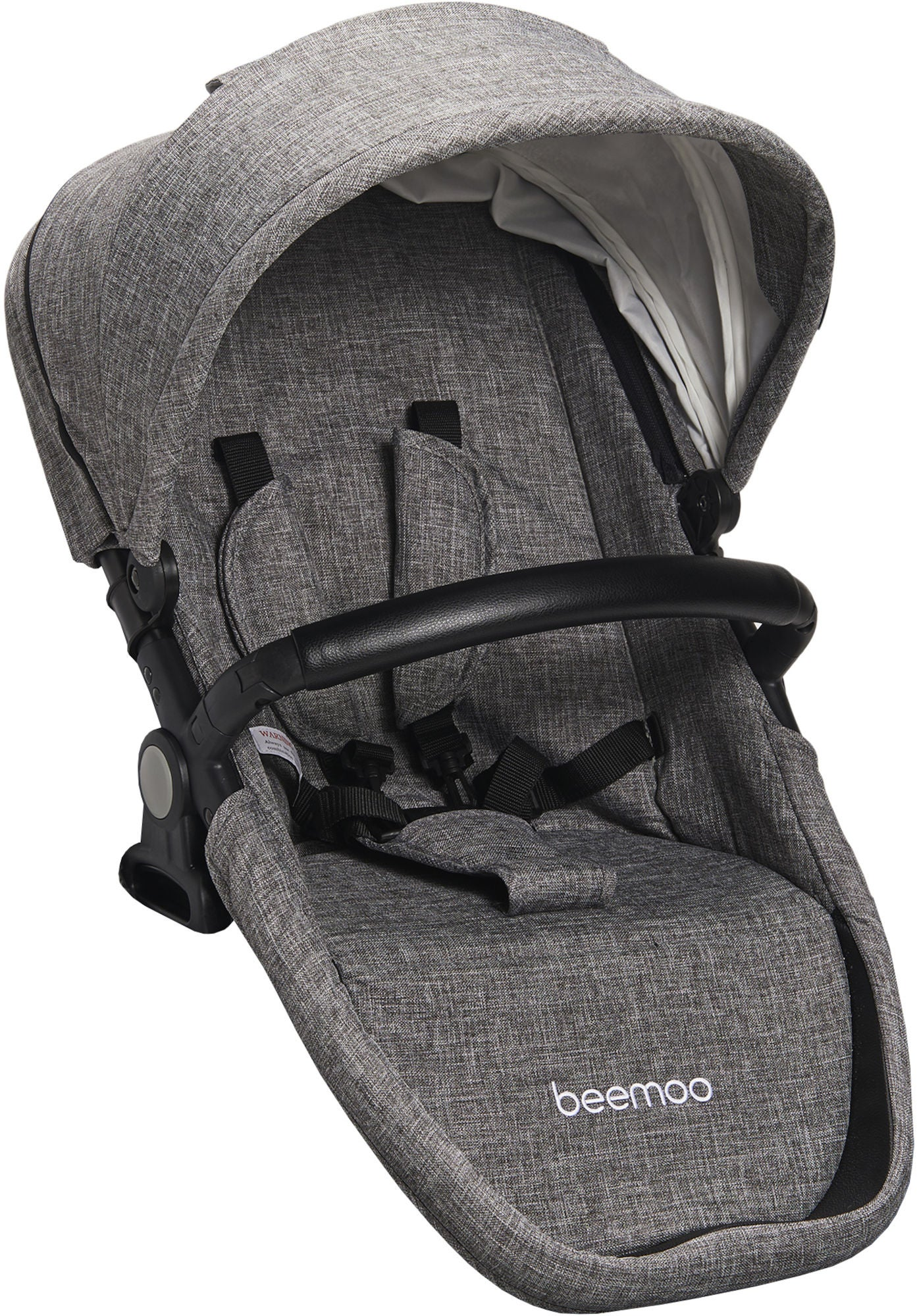 Beemoo Maxi Travel Lux II Sittdel, Silver/Grey Melange