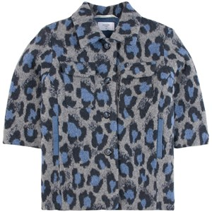 Paade Mode Leopard Print Alaska Jacka Blå 4 år