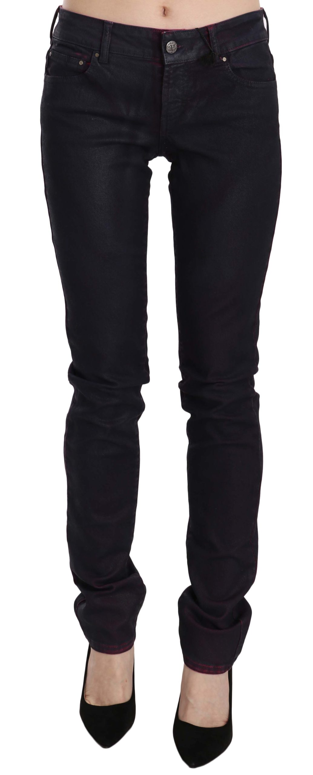 Just Cavalli Women's Low Waist Skinny Denim Trouser Black PAN70353 - W26