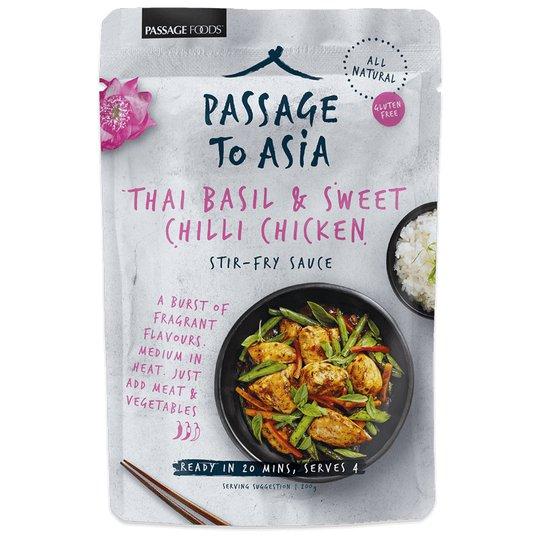 Sås Thai Basil & Sweet Chilli - 60% rabatt