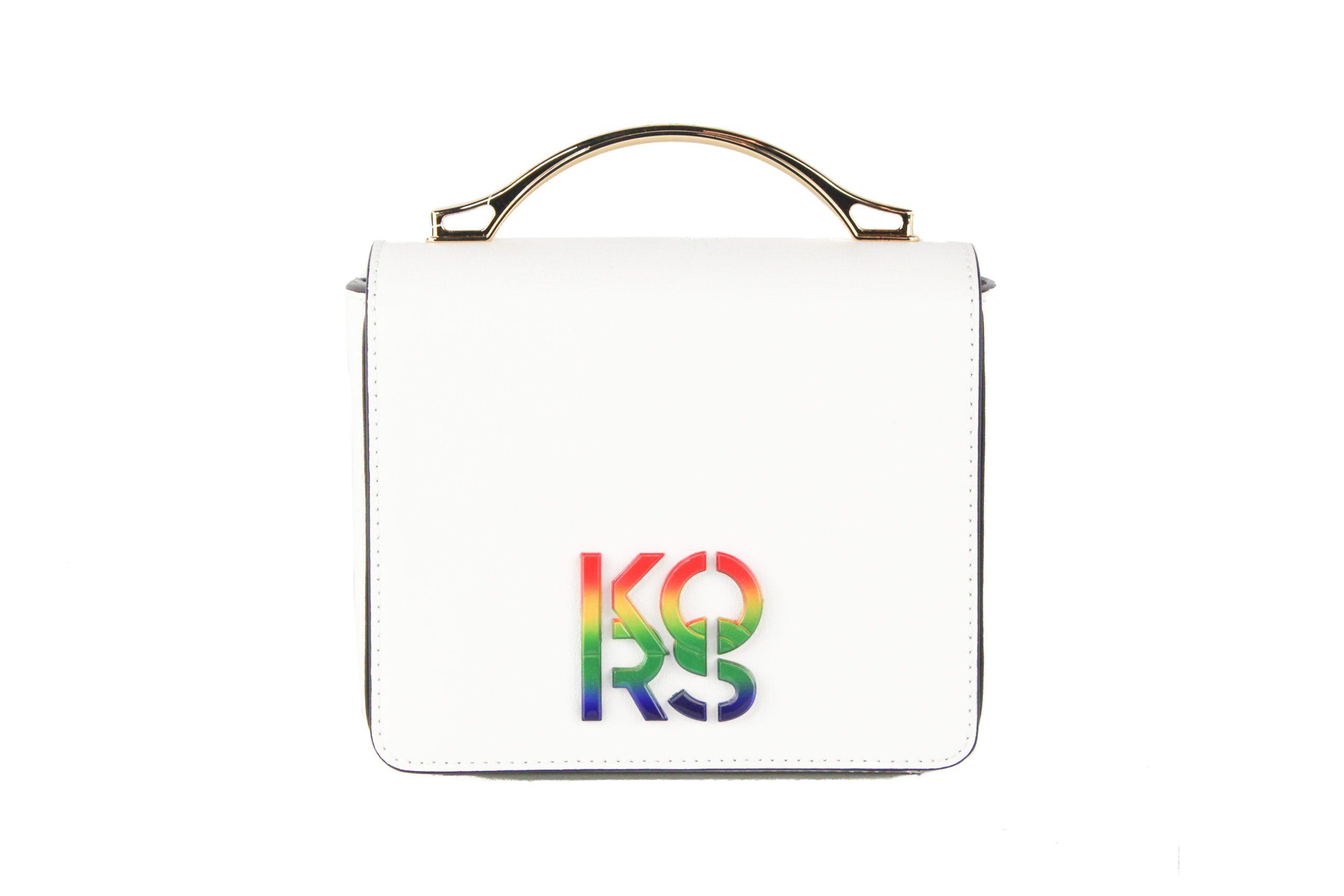 Michael Kors Women's Pride Shoulder Bag White 507292