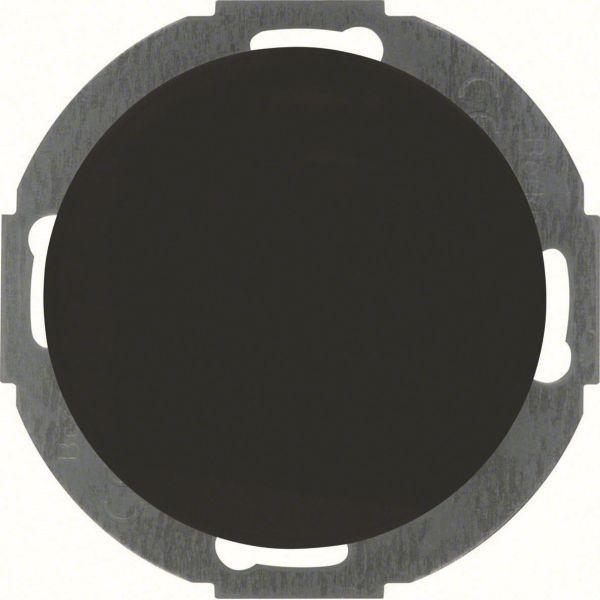Hager 10092035 Umpinainen keskiölevy R.Classic Musta