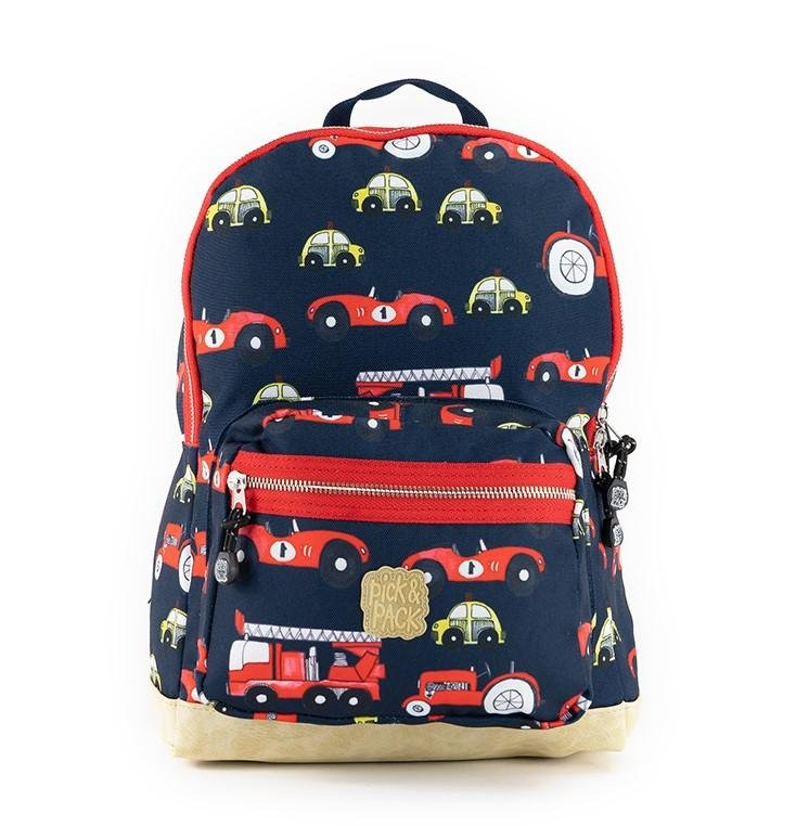 Pick & Pack - Backpack 10 L - Cars Navy (515479)