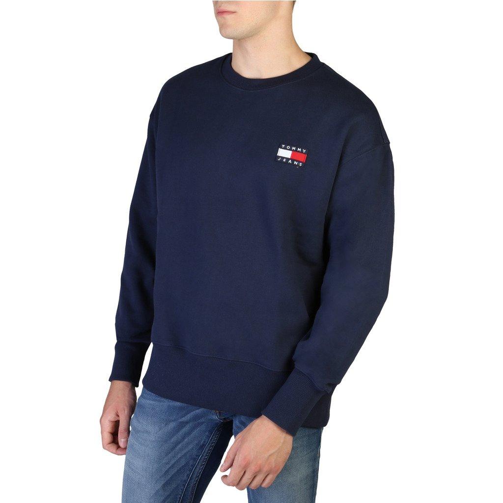 Tommy Hilfiger Men's Sweatshirt Various Colours DM0DM07250 - blue XS