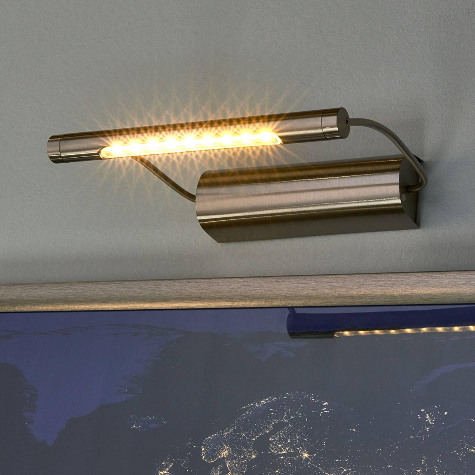 Paristokäyttöinen LED-tauluvalaisin Tommy