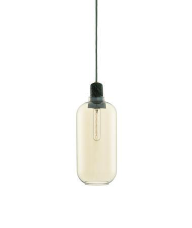 Amp Lampe Gull/Grønn L