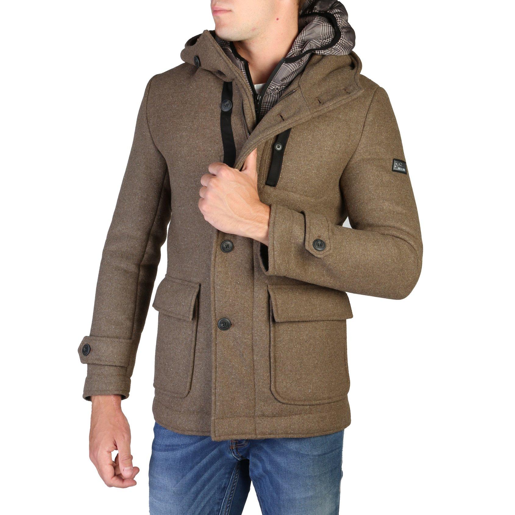 Yes Zee Men's Coat Various Colours O824_BJ00 - brown XL