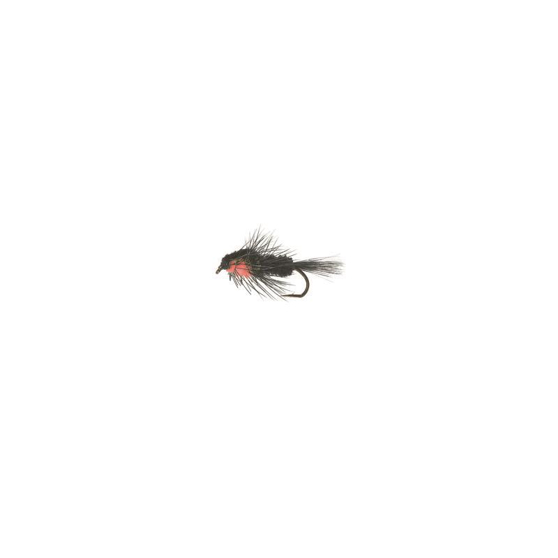 Montana Nymph #10 Black/Red Kjøp 12 fluer få gratis flueboks