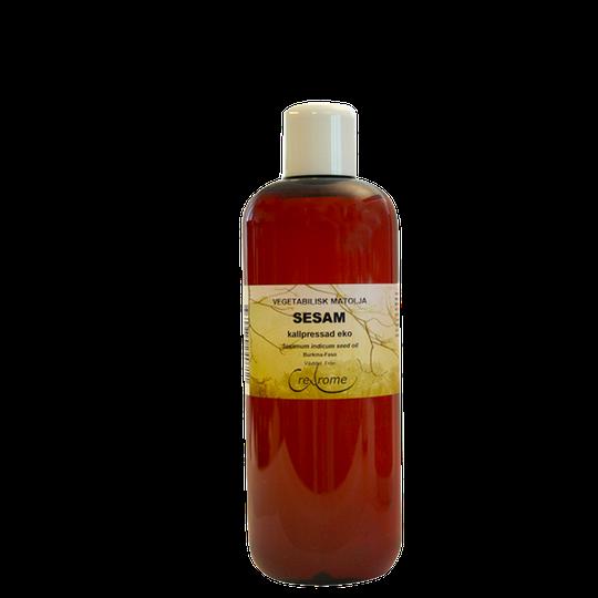 Vegetabilisk Olja Sesam kallpressad Eko, 500 ml