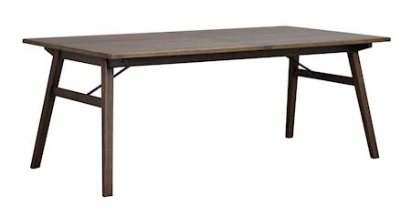 Graham matbord 200x100 mörkbrun ek