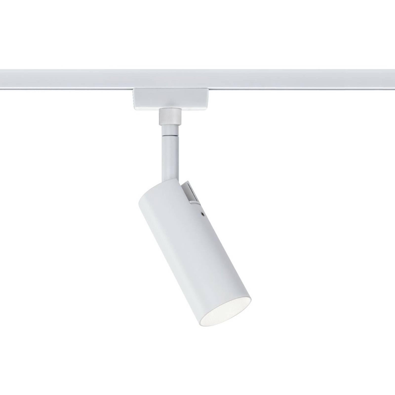Paulmann URail Tubo LED-spotti, valkoinen