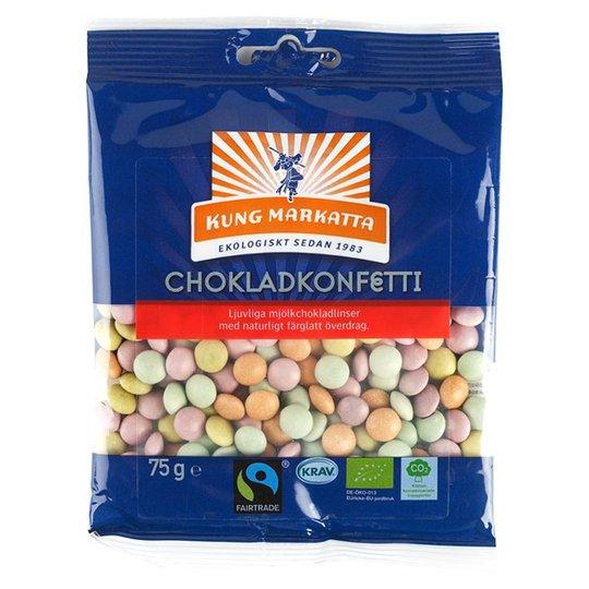 Kung Markatta Chokladkonfetti, 75 g