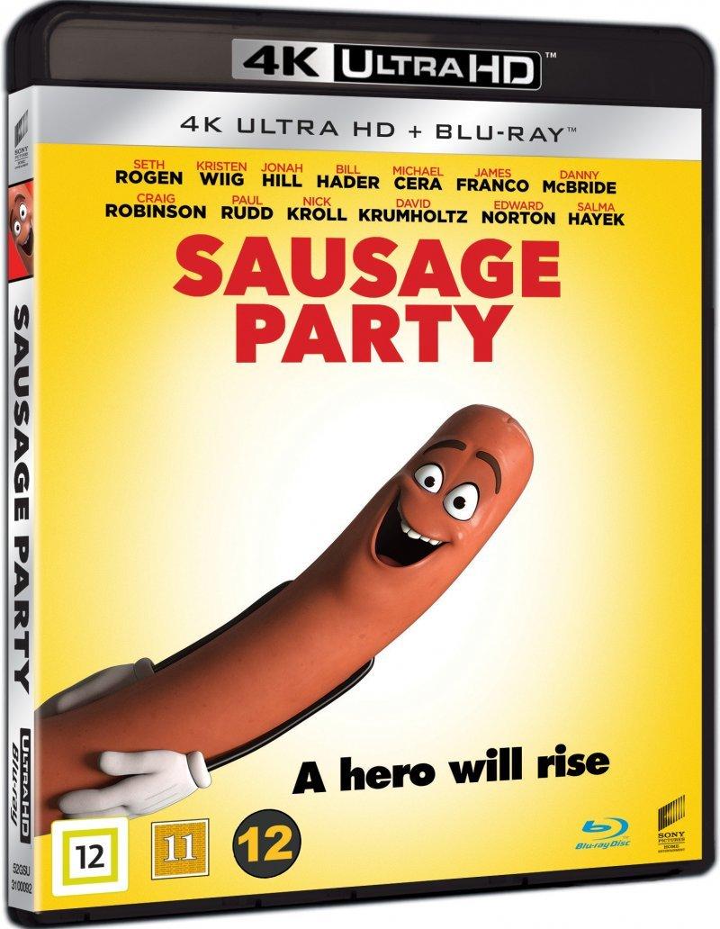 Sausage Party (4K Blu-Ray)