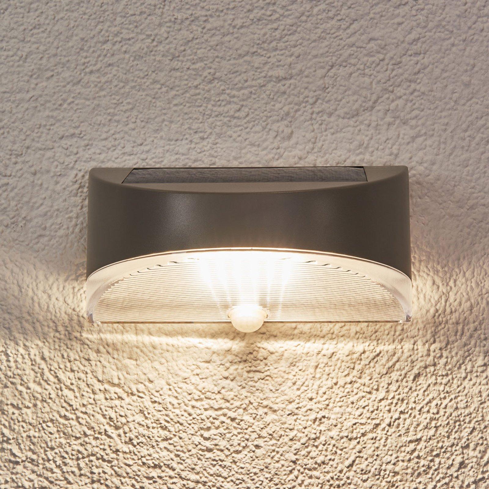 Bread - utendørs sol-vegglampe med LED