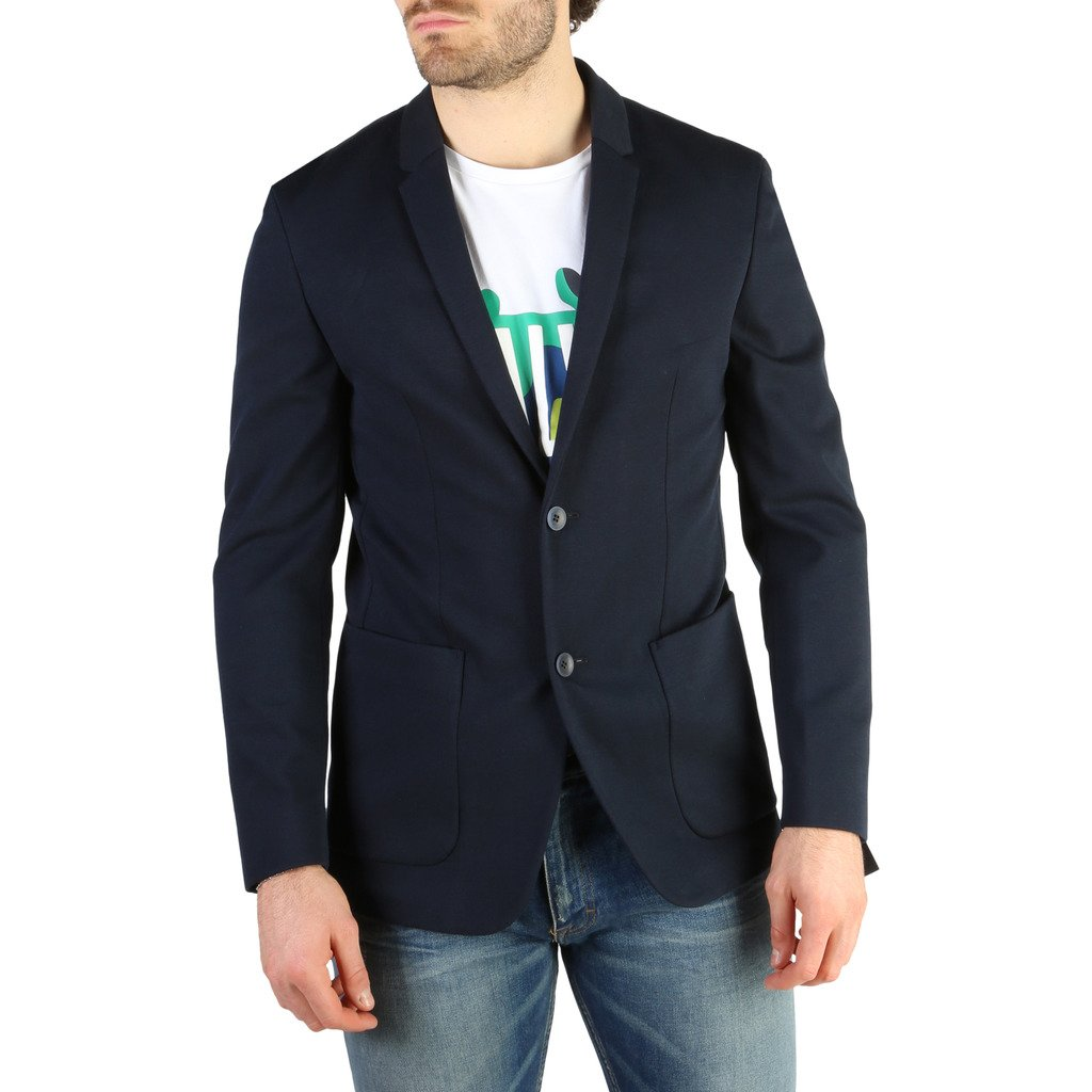 Calvin Klein Men's Jacket Blue K10K100564 - blue 50