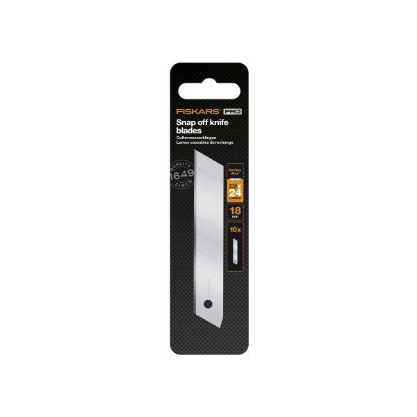 Fiskars CarbonMax Bladsett 18 mm 10-pakning