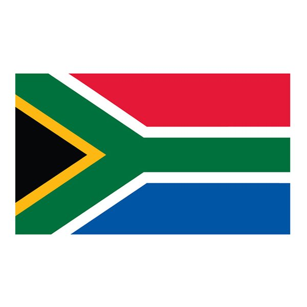 Flagga Sydafrika