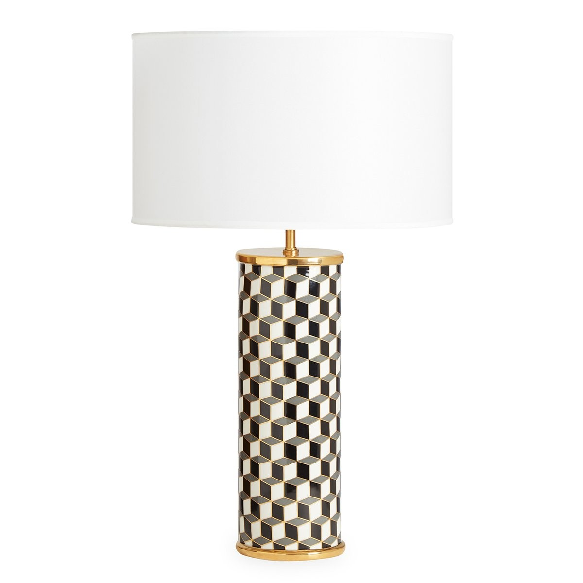 Jonathan Adler I Carnaby Table Lamp I Black & Grey