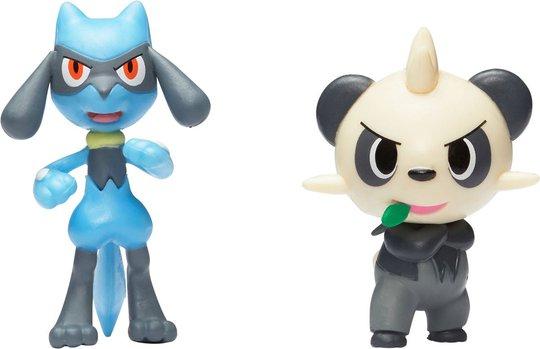 Pokémon Battle Figursett 2-Pack Pancham & Riolu
