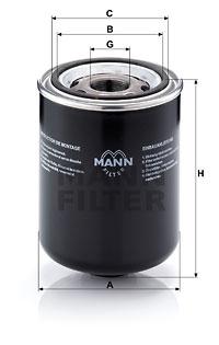 Öljynsuodatin MANN-FILTER W 1374/5