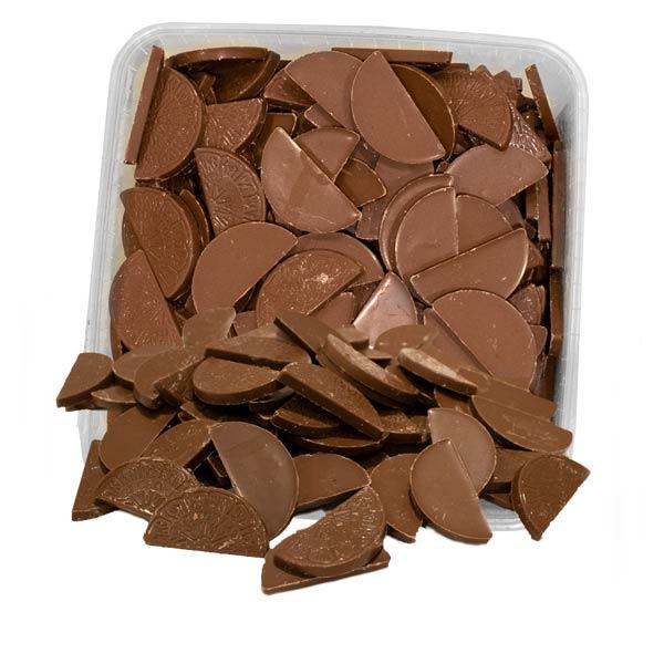 Apelsinklyftor med chokladsmak - 2 kg