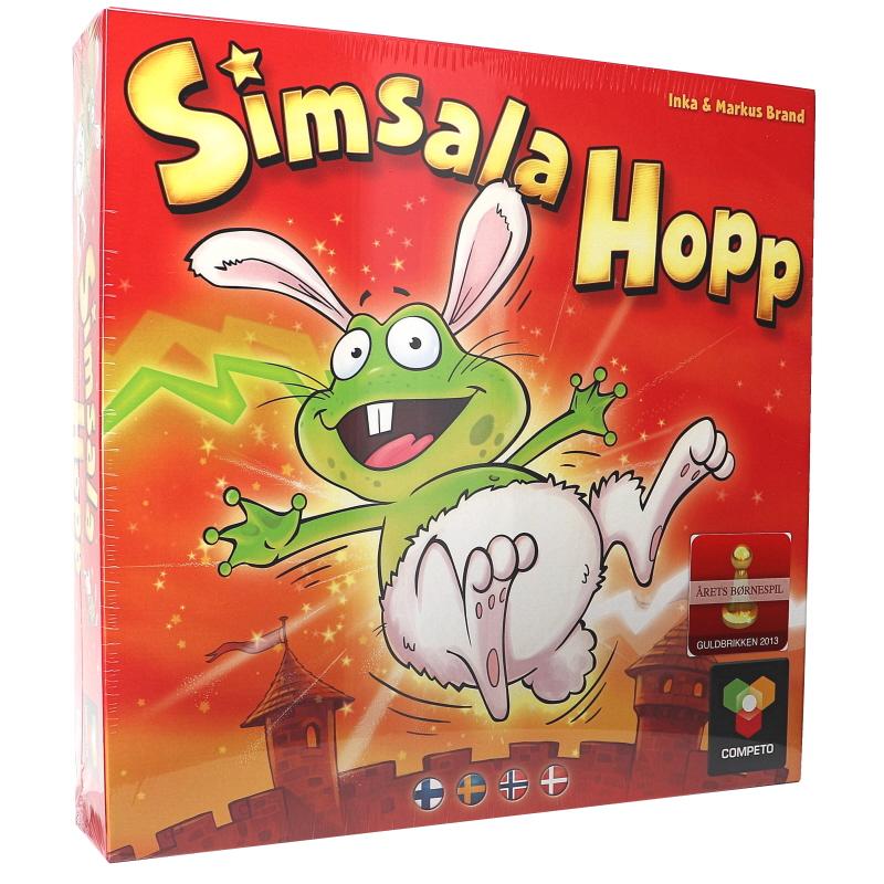 Simsala Hopp Peli - 50% alennus